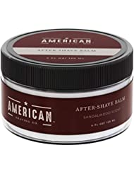 American Shaving After Shave Balm For Men (4oz) - Sandalwood...