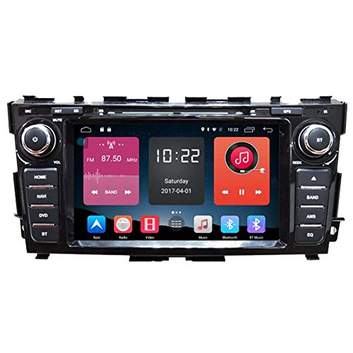 Autosion In Dash Android 6.0 Car DVD Player Sat Nav Radio Head Unit GPS Navigation Stereo for Nissan Altima Teana 2013 2014 2015 2016 2017 4G Support Bluetooth SD USB Radio WIFI DVR 1080P by Autosion