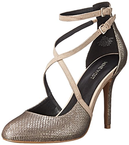 Gold Light Light West Inessa Pump Women's Metallic Dress Natural Nine W1v0wqF61