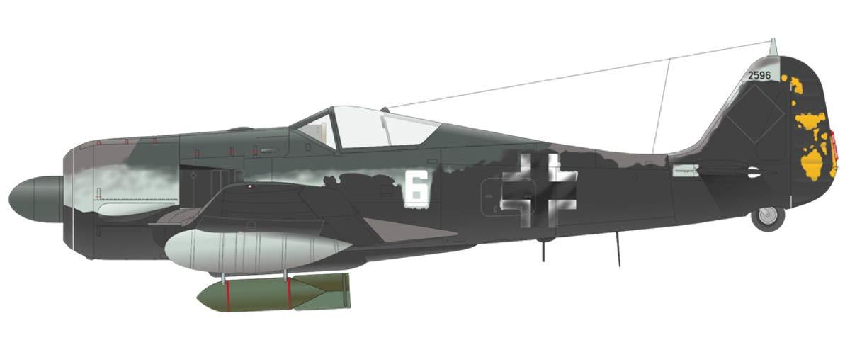 Model Building KIT Eduardo 1//48 Limited Edition German Air Force Focke Wolf Fw190A-5 EDU11131 1:48 Eduard Jabo Fw 190A-5