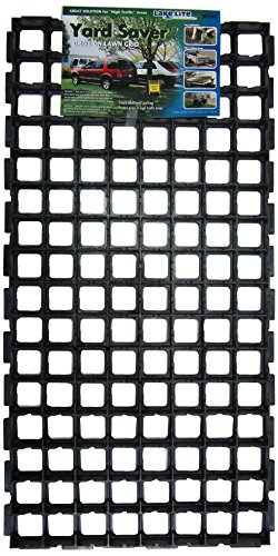 Yard Saver FGLLI01874-5PK Drive-On Lawn Grid, 38.5 x 19 x 1.25, Black