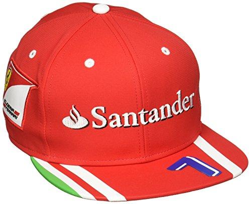 Ferrari Scuderia Ferrari Kimi Raikkonen Red Flatbrim Team (Scuderia Ferrari Cap)
