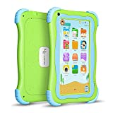 Yuntab Q91 7 inch Android 5.1 Kids Edition Tablet PC with Premium Parent Control Kids Software Pre-Installed Allwinner A33 Quad-core, 1+8GB, Dual Camera, WiFi tablet for kids (Green)