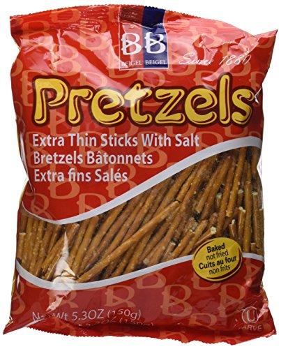 (BEIGEL & BEIGEL Pretzel Super Sticks, 5.25 OZ)