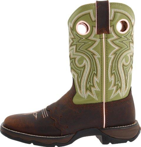 Women's Durango Square Toe Western Boots BROWN 9.5 M by Durango (Image #5)