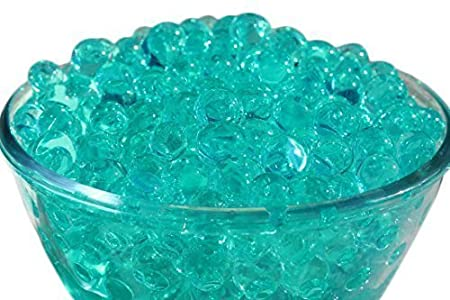Trimming Shop 5 Packets Turquoise Blue Water Gel Beads Aqua Crystal