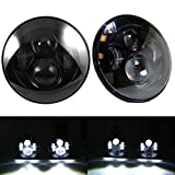 Jeep Wrangler 7 Inch CREE LED Round Projection Headlights