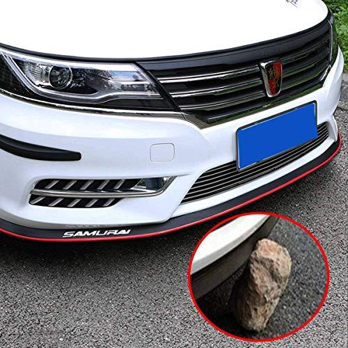 2.5m Carbon Fiber Pattern Car Front Bumper Spoiler Lip Skirt Splitter Protector