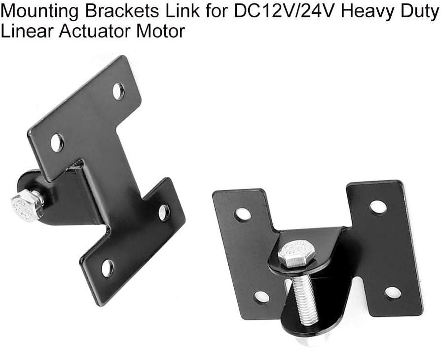 Supports de Montage en Alliage daluminium 2pcs pour Moteur dactionneur lin/éaire /à Courant continu DC12V 24V EBTOOLS Supports de Montage Lien de Remplacement