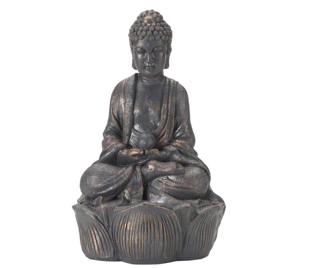 Altuna 1030140ps-buddha with Light 25 cm, Assorted Colours