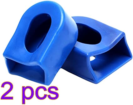 USA 2Pcs Mountain Bike Silicone Crank Arm Protector Road Bicycle Crank Arm Cover