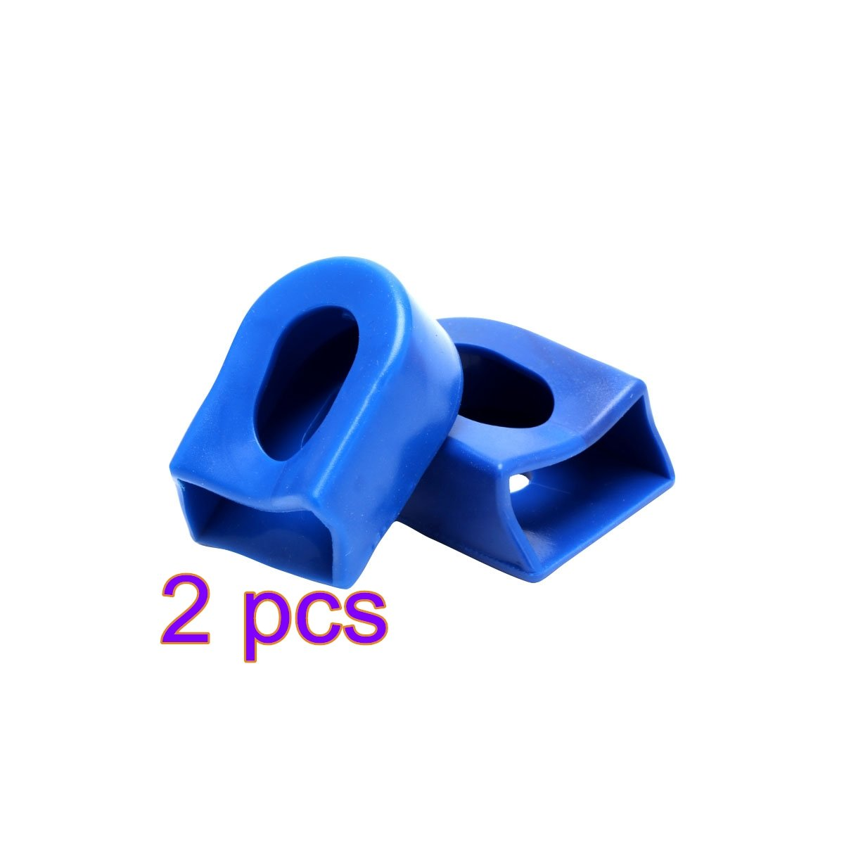 ADSRO 2pcs Bicycle Sleeve Cover Silicone Crank Protective Sets Bike MTB Crank Arm Boots Protector