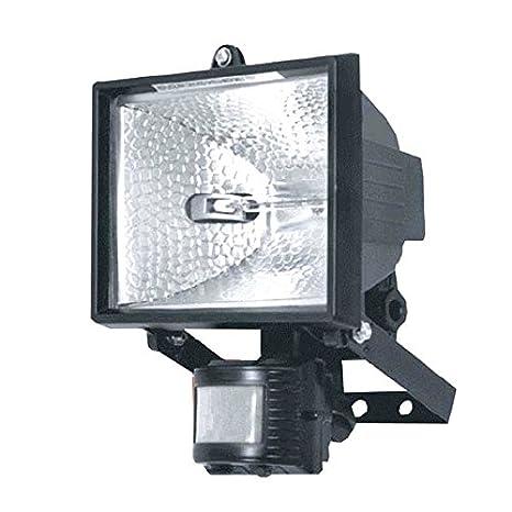 Blackspur - Reflector halógeno de seguridad con detectores de ...