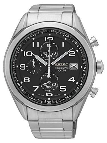 - Seiko Men's Chronograph Quartz Watch with Stainless Steel Strap SSB269P1