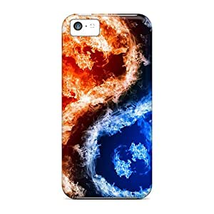 Perfect Yin Yang Case Cover Skin For Iphone 5c Phone Case