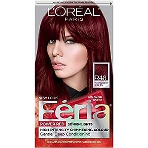 Amazon Com L Oreal Paris Feria Permanent Hair Color R48 Red