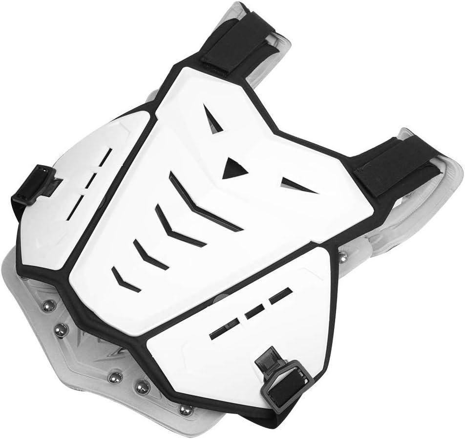 lahomie Motorrad Lederweste,Motorrad /ärmellose Weste Wirbels/äule Brustpanzer /Ärmellose K/örperschutz Racing Protective Gear Jacket