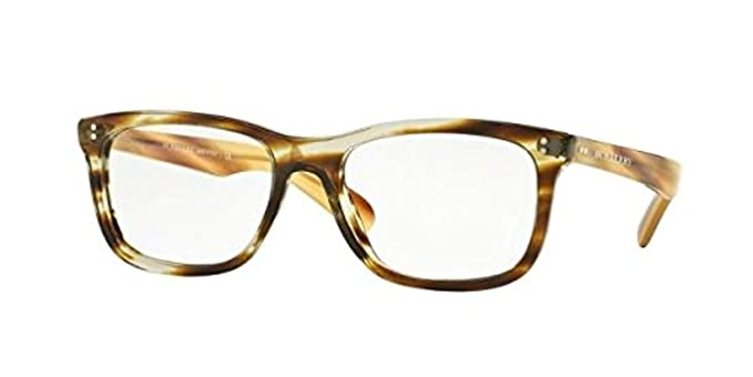 3a77d2f9a0 Burberry Men s BE2212 Eyeglasses Brown Horn 54mm at Amazon Men s Clothing  store
