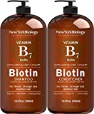 Biotin Shampoo and Conditioner Set for Hair Growth