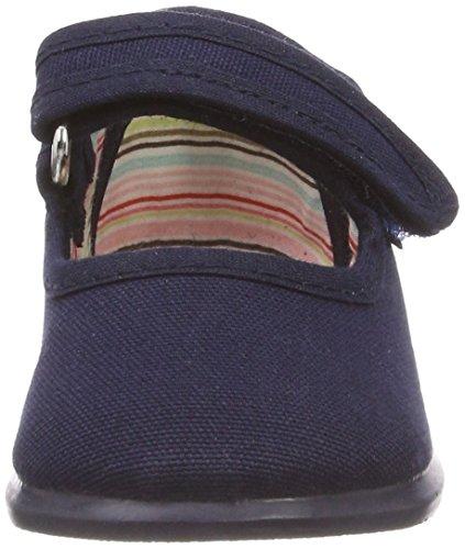 marino Victoria Velcro Azul Unisex Bebé Zapatillas Mercedes Lona rr0Cq