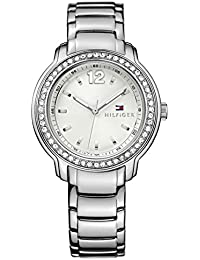 Womens 1781469 Callie Stainless White Dial Glitz Watch