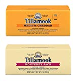 Tillamook Medium Cheddar Cheese & Monterey Jack Cheese Bundle of 2 Lb Loaves