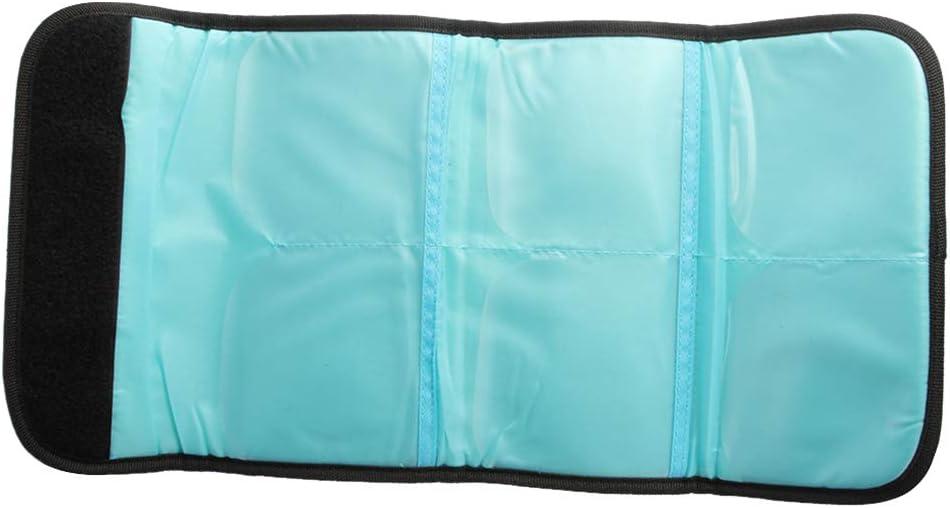 Shiwaki Filter Aufbewahrung Tasche Taschenbeutel Filteretui f/ür Bis Zu 82mm Runde Filter Schwarz