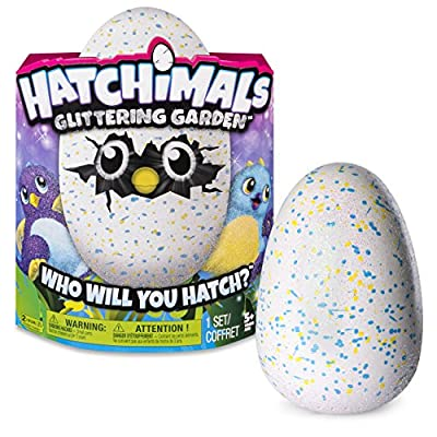 Hatchimals Glittering Garden - Hatching Egg - Interactive Creature – Shimmering Draggle by Spin Master by Spin Master