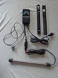 Catalina Aquarium Titanium Heater and Controller - 800 Watts