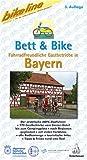 Bett & Bike. Der praktische ADFC-Radführer: Bikeline Bett & Bike, Bayern
