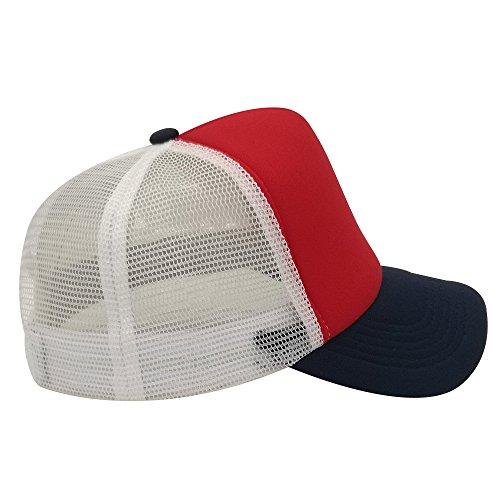 de hombre White Red oriental para Navy spring Gorra béisbol S1xfXwqRE
