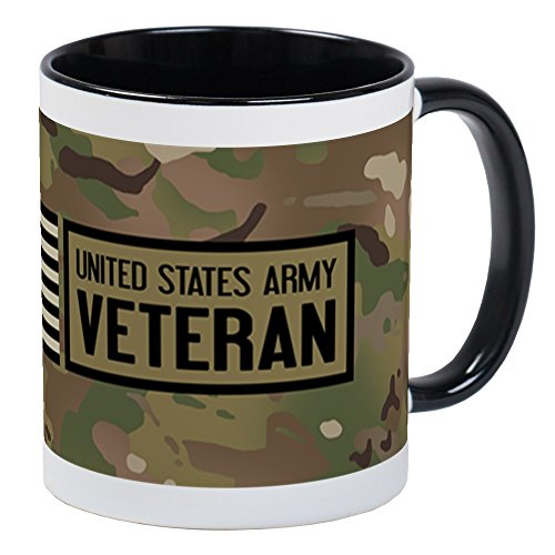 CafePress U.S. Army: Veteran (Camo) Unique Coffee Mug, Coffee Cup