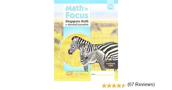 Math in Focus: Singapore Math: Student Workbook Grade 5 Book A ...