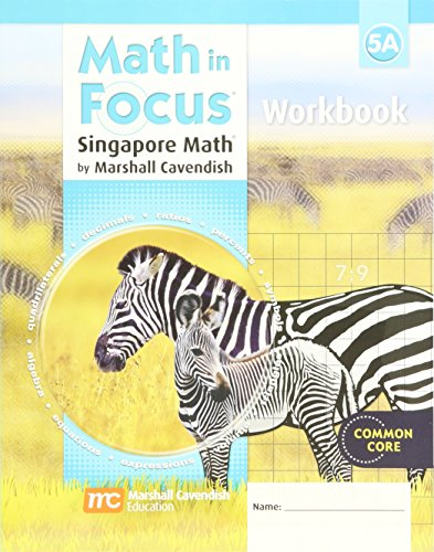 Math in Focus: Singapore Math: Student Workbook Grade 5 Book - Brands Singapore