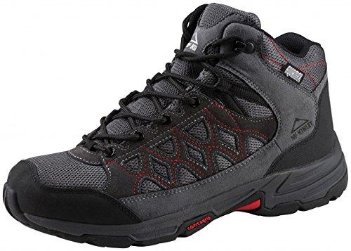 Mckinley Multi-Schuh Cisco Hiker Mid Aqx M - grau/schwarz/rot, Größe:40