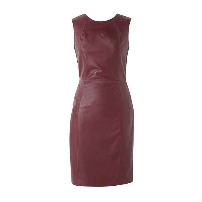 La Redoute Collections - Vestido - para mujer burdeos 54: Amazon.es: Ropa y accesorios