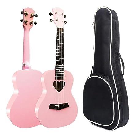 Ukulele principiante Girls Pink 23 pulgadas Ukulele de concierto ...