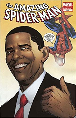 Marvel comic book the amazing spider man 583 w barack obama marvel comic book the amazing spider man 583 w barack obama 2nd printing marvel comics amazon books sciox Image collections