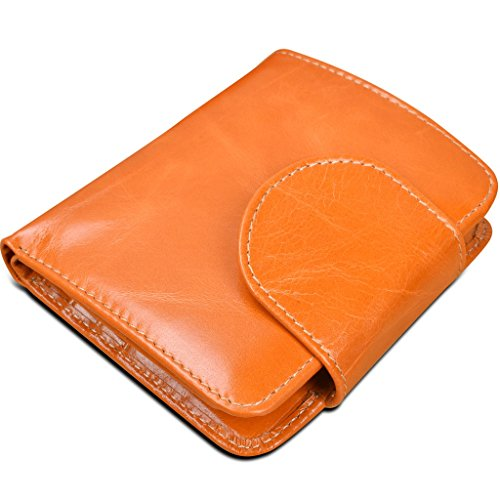 YALUXE Capacity Compact Trifold Leather