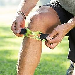 DonJoy Performance WEBTECH Knee Support Strap: Black, Large/X-Large
