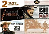 First Class Western Bravado: Clint Eastwood Triple Feature- Unforgiven & The Outlaw Josey Wales & Fistful of Dollars (3 DVD Bundle)