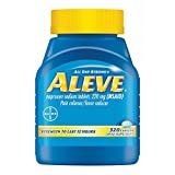 Aleve Pain Reliever with Arthritis Cap, 320 ct. (pack of 6)