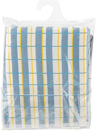 ACE Ironing Board Cover & Pad Set - 100% Cotton - Checkered Blue - 48