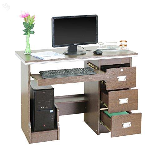 Royal Oak Acacia Office Table (Chocolate)