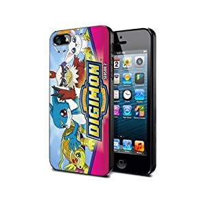 Case Cover Silicone Iphone 5 5s Digimon Cartoon Dm11 Protection Design