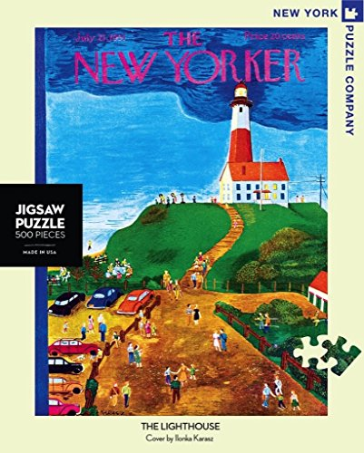 New York Puzzle Company - New Yorker The Lighthouse - 500 Piece Jigsaw Puzzle ()