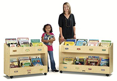 Jonti-Craft 5369JC Mobile 8-Section Book Organizer