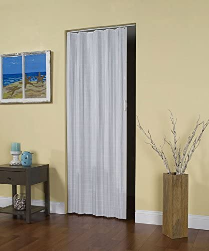 LTL Home Products - Puerta de acordeón plegable para interior (madera de vidrio): Amazon.es: Bricolaje y herramientas