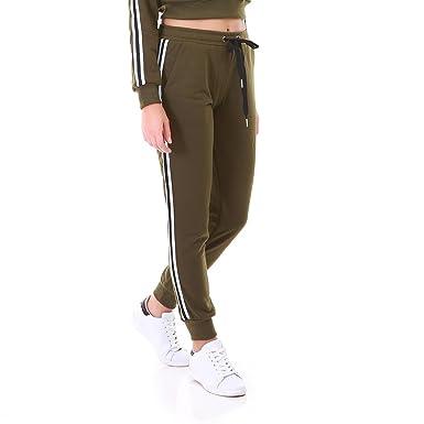 La Modeuse - Jogging femme en molleton léger  Amazon.fr  Vêtements ... 2d69ea16c87