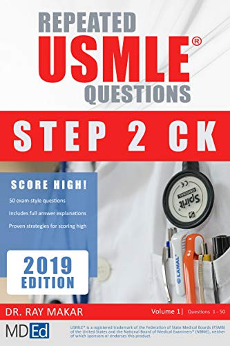 Repeated USMLE Questions: USMLE Prep (Step 2 CK Book 1